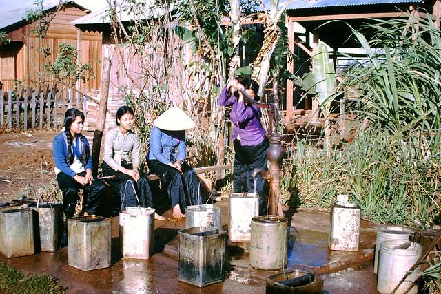 Ban Me Thuot 1963-64 - Photo by Al Adcock