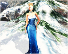 AURORA in Blue from STYLES by DANIELLE