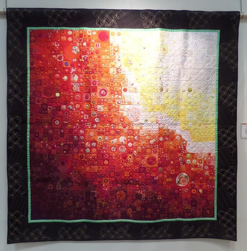Quilt by Michiko Hiura