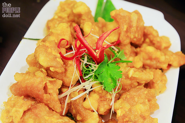 Salted Egg Chinese Style Fried Chicken (P295)
