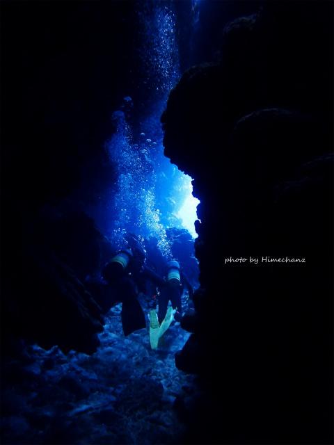 洞窟探検楽しかったです♪