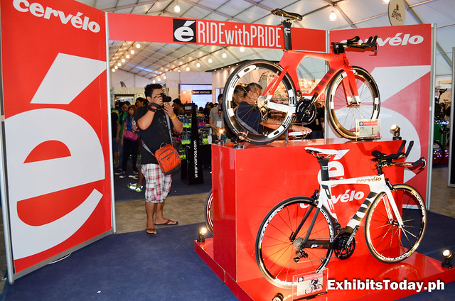 Cervelo Exhibit Booth