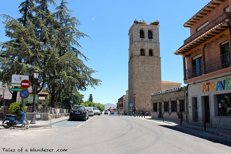 MANZANARES EL REAL - Iglesia de Nuestra Señora de las Nieves