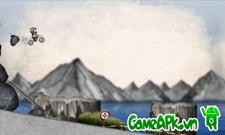 Stickman Downhill – Motocross v1.9 Full cho Android