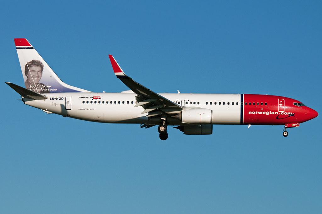 LN-NGD - B738 - Norwegian