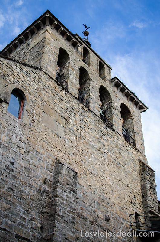 iglesia de Jaca en la comarca de la Jacetania