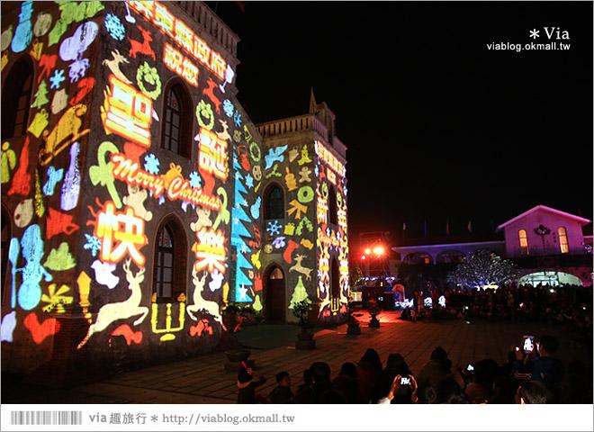 【萬金教堂】屏東萬金教堂聖誕季~3D光雕秀+耶誕地景藝術/全台最濃耶味小鎮!7