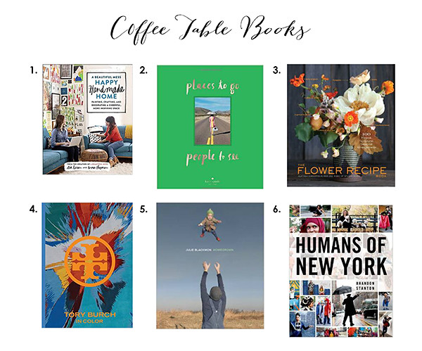 Gift Guide - coffeetablebooks