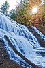 Cane Creek Falls in Fall #Creek Falls State #Park, #Tennessee - v260