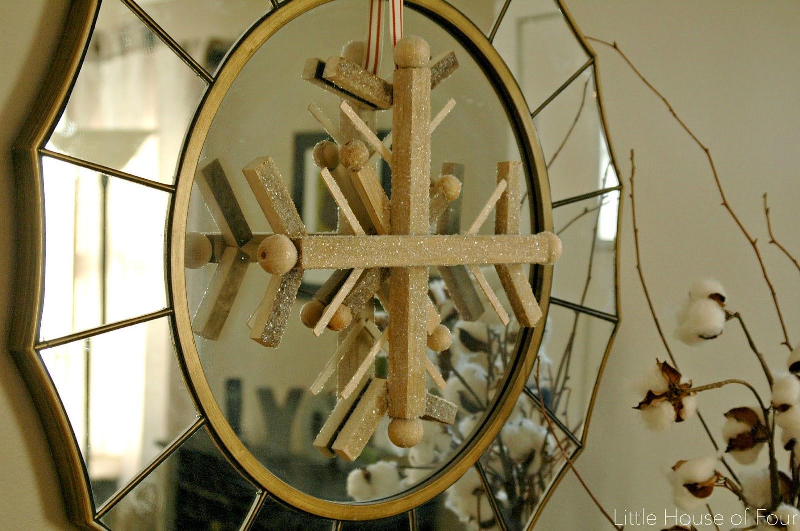 wood snowflake 1