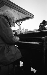 Piano Man of Pike Place