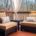 Outdoor Seating and Custom Outdoor Drapes