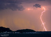 Lightning over Port Stephens