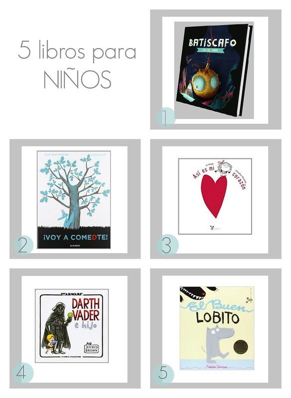 PicMonkey Collage libros niños