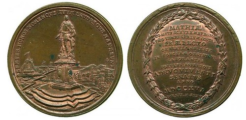 The Siege of Corfu, 1716 medal