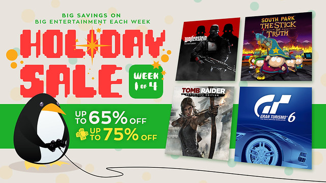 PS Store Holiday Sale 1