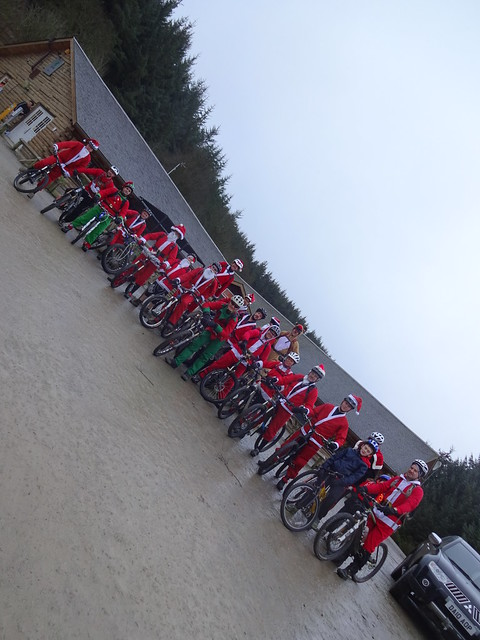 Woollybacks Santa ride 2014