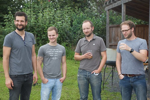 Timo, Tim, Matthias, Dennis