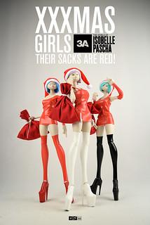 threeA – Isobelle Pascha【XXXMAS GIRLS】聖誕快樂樂女郎 SACK GRIPPING HANDS