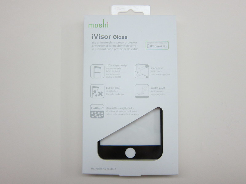 Moshi iVisor Glass Screen Protector for iPhone 6 Plus - Box Front