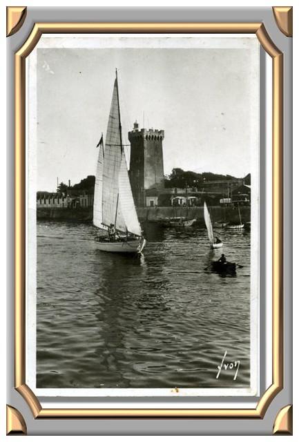 LES SABLES-D'OLONNE (Vendée) La tour d'Arundel
