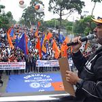 Ato na Região Sul - Campanha Salarial 2010