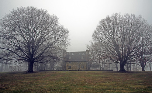 statepark park old winter usa mist building tree rain stone museum architecture outside town photo interesting nikon flickr exterior image shots connecticut country shoreline foggy picture newengland ct places scene rainy historical stonewall scenes gundersen guilford conn stonehouse whitfieldstreet nikoncamera d600 oldstonehouse nikond600 connecticutscenes henrywhitfieldstatemuseum bobgundersen robertgundersen