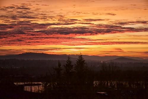 oregon sunrise river portland willamette 2015 sunrisesunsets