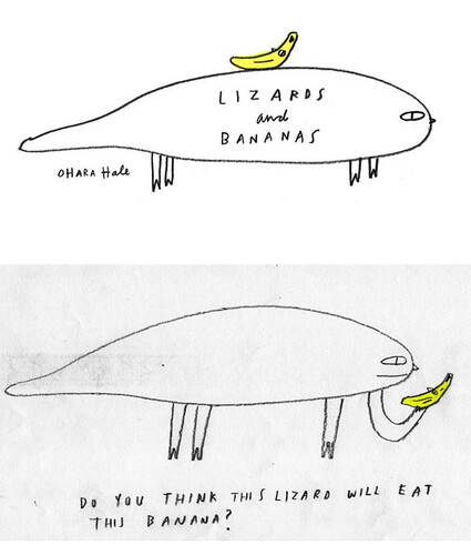 LIZARDS and BANANAS cover