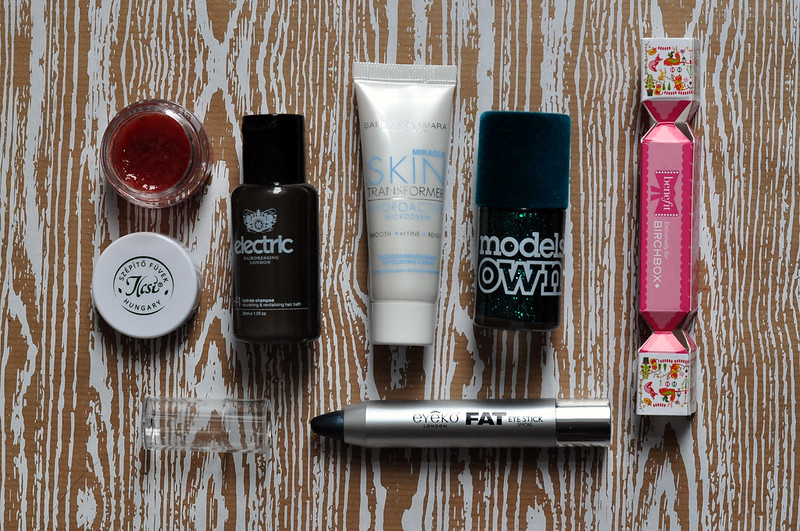 beauty box birchbox december 2014 rottenotter rotten otter blog 1