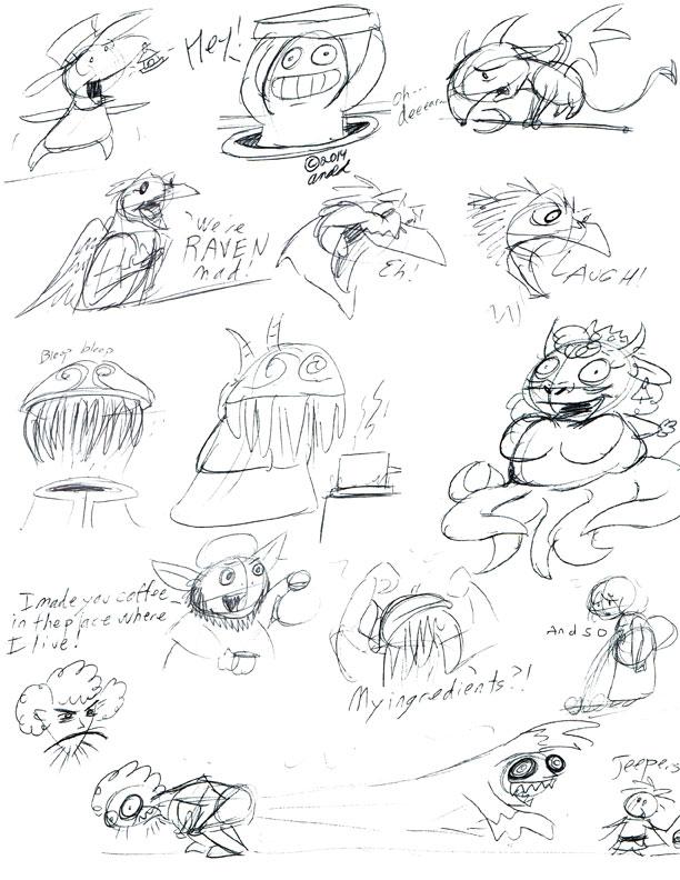 Ni-No-Kuni Doodles