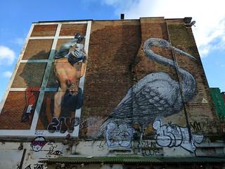 London steet art - off Brick Lane