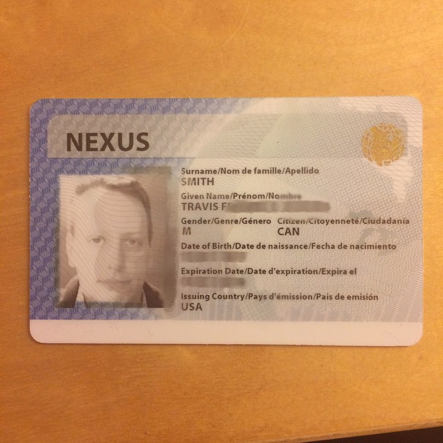 My New Nexus Card Came Today The Picture On It Was Taken
