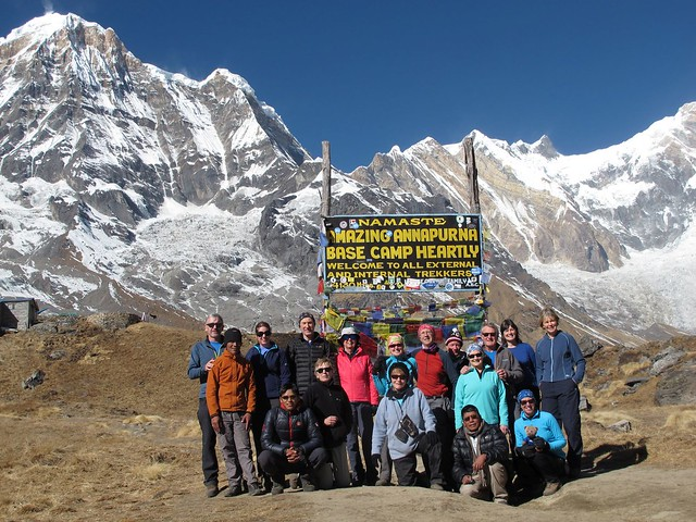 Annapurna Sanctuary Trek: Day 9 MBC to ABC