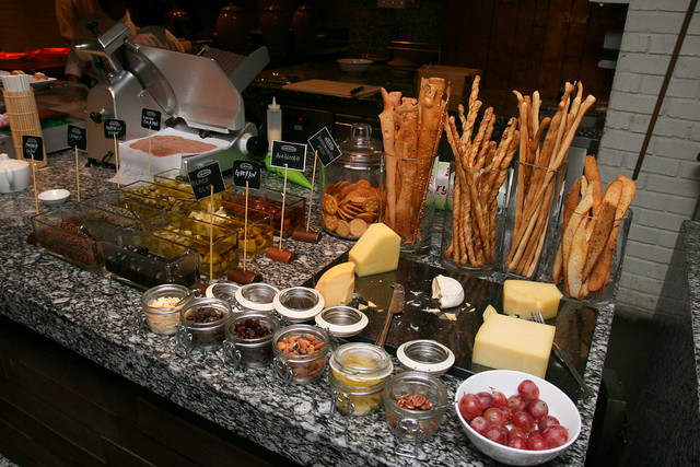 Antipasti section