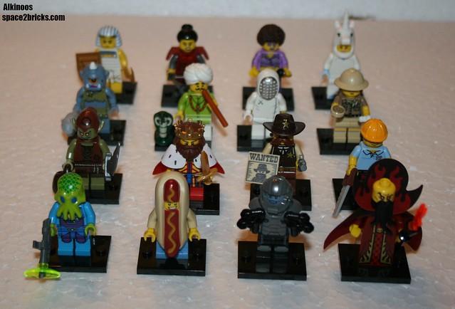 Lego Minifig série 13 all MFs