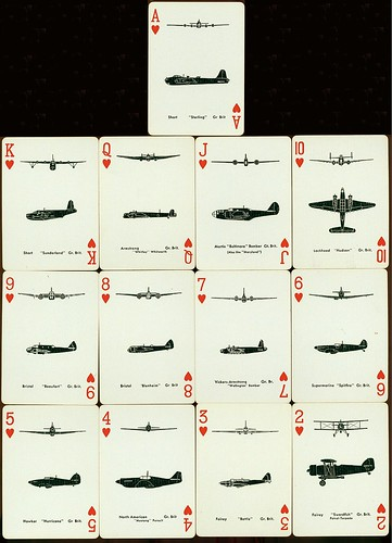 Spotter Cards Aviones ingleses