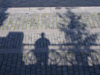 PRAHA/ PRAGUE Sidewalk Stone Mosaic / chodnik kamenne dlazdeni - PA163978