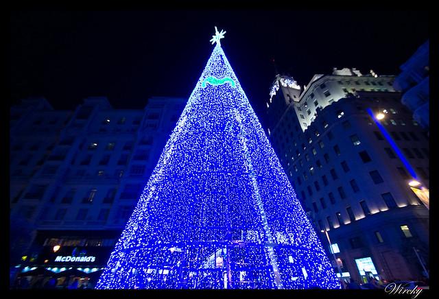 Recorrido por Madrid en Navidad 2014