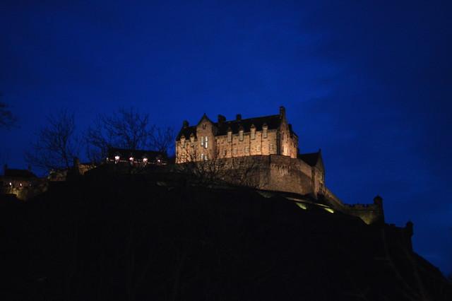 Edinburgh Castle At Night Flickr Photo Sharing