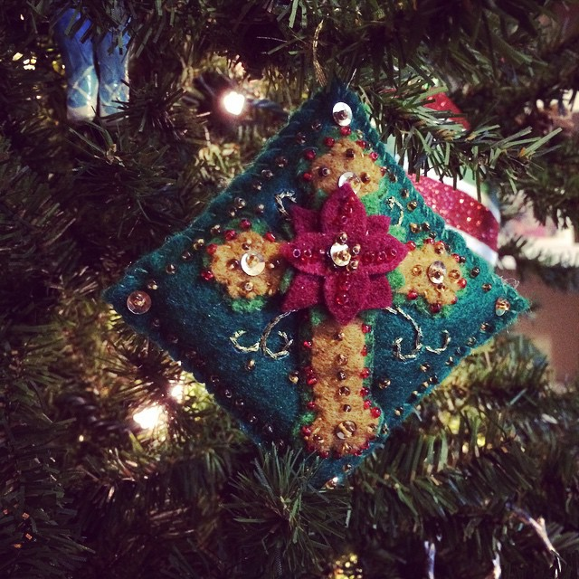 A beautiful ornament by a beautiful aunt