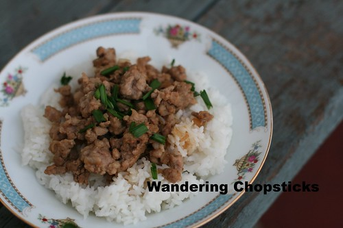 Taiwanese Minced Pork Rice 7