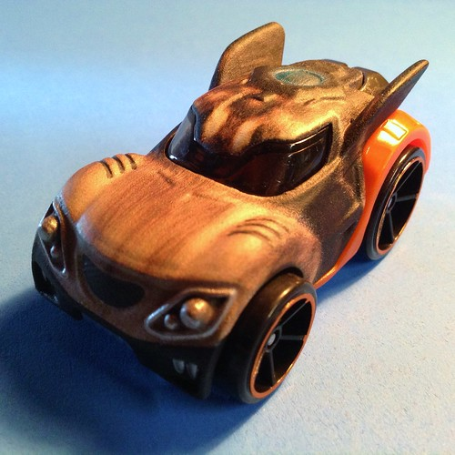 Guardians Hot Wheels Rocket front angle