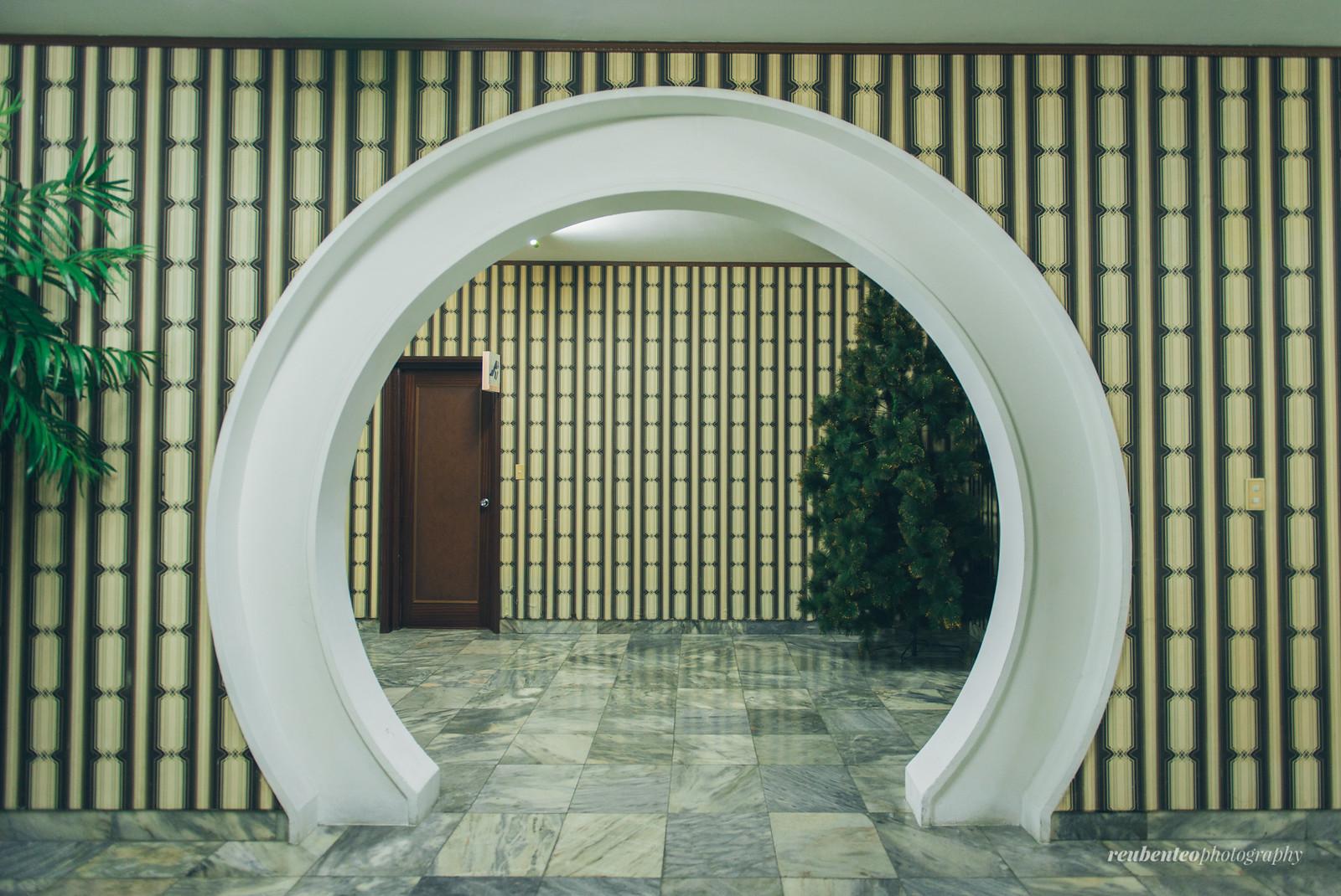 Round doorway