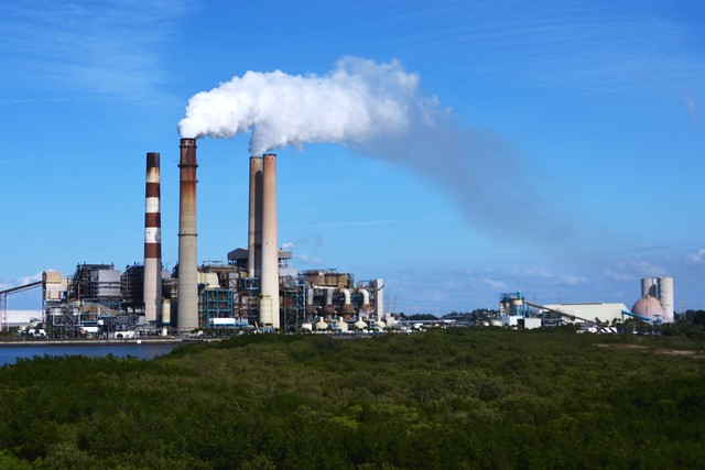 Tampa Electric Power Plant