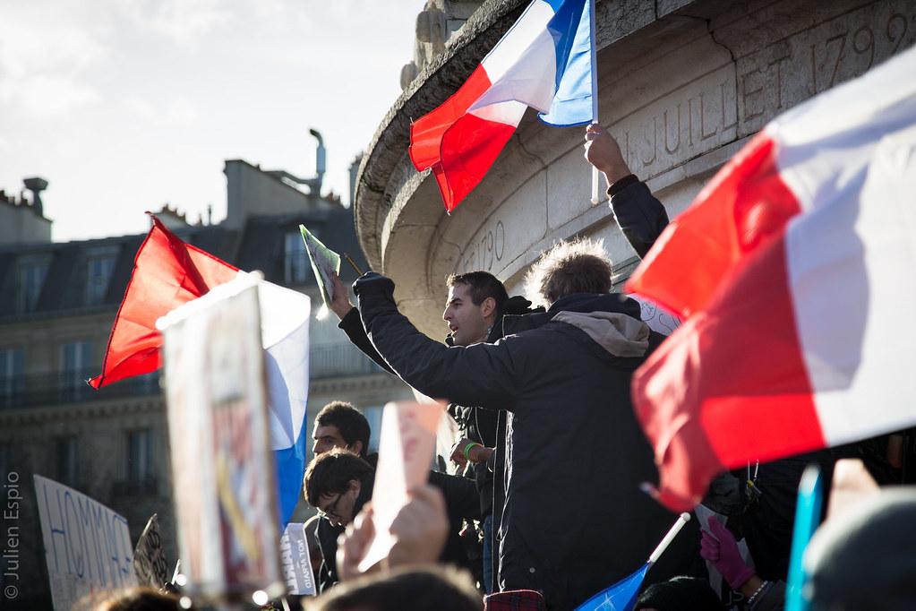 Marche Républicaine (11jan15)-7 de Julien Espio, sur Flickr
