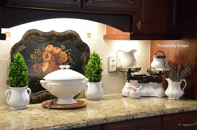 Ironstone Kitchen Vignette-Housepitality Designs