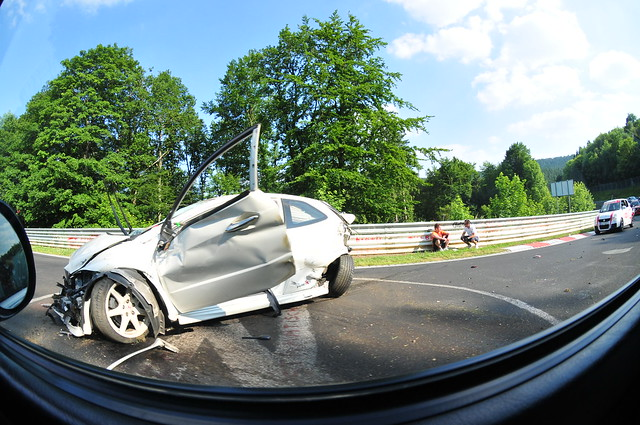 Accident Honda Civic a Adenauer Forst