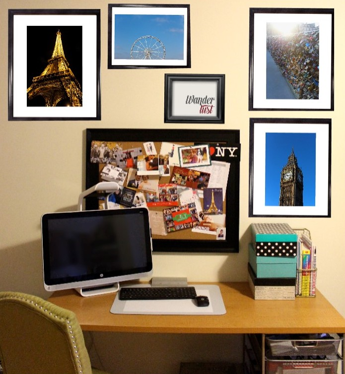 How to Create a Gallery Wall | Sprout by HP | #LivingAfterMidnite