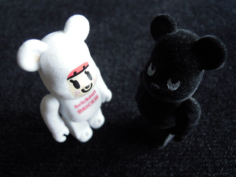 Je veux l'ours en velours.